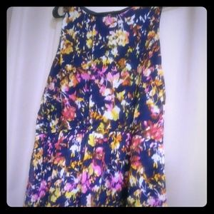 Cute Multicolor Floral Dress